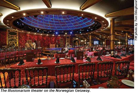Norwegian Getaway Illusionarium Theater