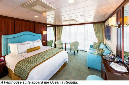 Oceania Regatta Refurb Tasteful Tasty Travel Weekly