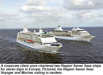 Regent Seven Seas Voyager and Mariner