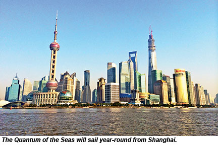 Shanghai, future homeport for Quantum