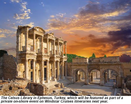 The Celsus Library in Ephesus, Turkey.