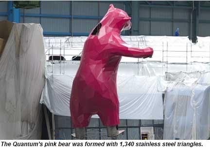 Quantum pink bear