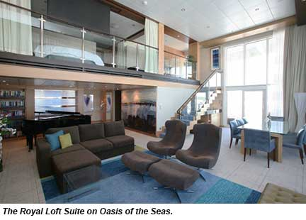 Royal Loft Suite, Oasis of the Seas