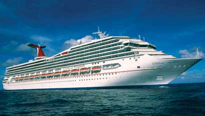 Carnival Corp Embraces Hybrid WiFi Technology Travel Weekly - Cruise ships with wifi
