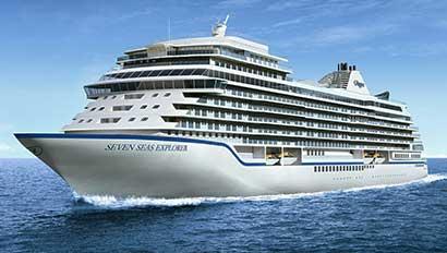 Regent Seven Seas Explorer rendering