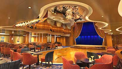Koningsdam - Queen's Lounge