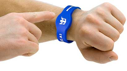 Royal Caribbean RFID wristband