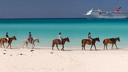 Carnival horseback riding