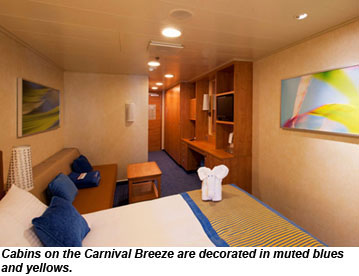 Carnival Breeze Stateroom