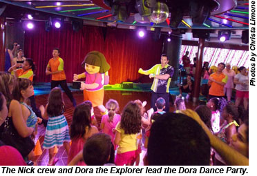 Norwegian Gem Dora Dance Party