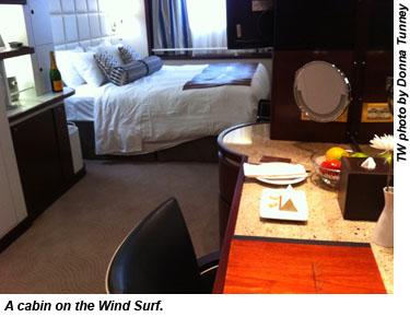 Wind Star cabin