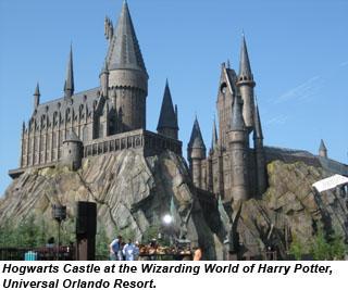 Hogwarts Castle Real Midway Media