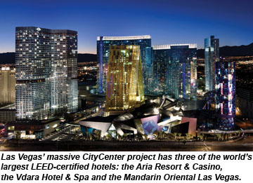 CityCenter LEED hotels