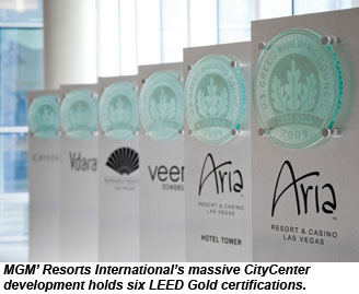 CityCenter LEED certifications