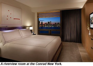Conrad New York, Riverview Room