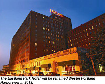 eastland park hotel to become a westin travel weekly. Black Bedroom Furniture Sets. Home Design Ideas