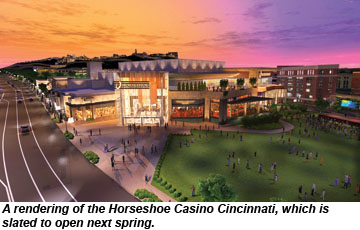 Hotels near horseshoe casino cincinnati