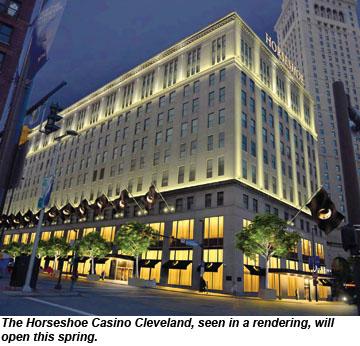 Horseshoe casino hotel in cleveland ohio