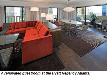 Hyatt Regency Atlanta Renovated Guestroom