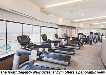 upscale hotels look at form function in gym design