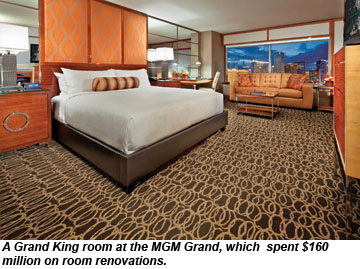 MGM Grand Grand King room