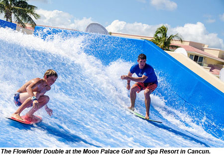 Moon Palace Cancun FlowRider Double