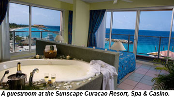 Sunscape Curacao guestroom
