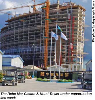 Baha Mar Construction