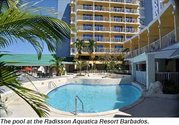 Radisson Aquatica Resort Barbdos Pool