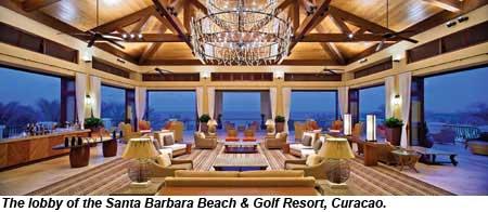 santa barbara beach curacao lobby