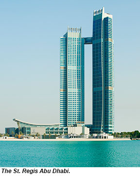 Frankfurt Abu Dhabi Hotel St Regis Saadiyat