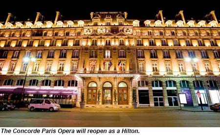 The Concorde Paris Opera Will Reopen As A Hilton