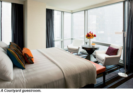 Courtyard/Residence Inn Manhattan/Central Park, Courtyard Guestroom