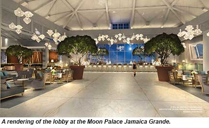 Early 2015 Opening Targeted For Moon Palace Jamaica Grande