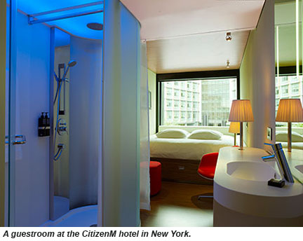 Citizenm Makes U S Debut With Nyc Hotel Opening Travel