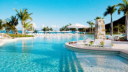 Riu Palace St. Martin pool
