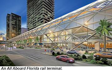 All Aboard Florida rail terminal
