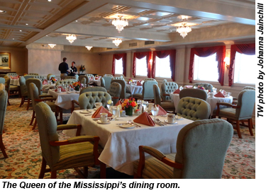 Queen Of The Mississippi Embarks On Maiden River Cruise