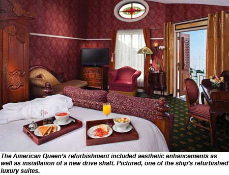 American Queen Luxury Suite