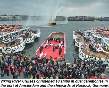 Viking River Cruises Longship Christenings
