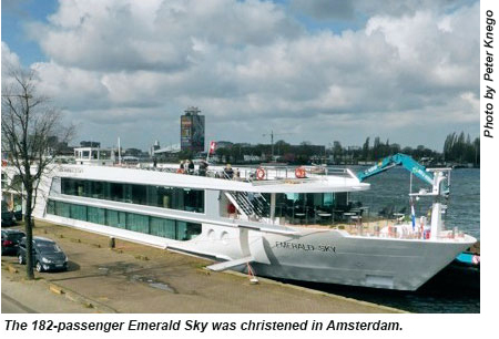 Emerald Sky Makes Debut Travel Weekly - Emerald river cruise ship