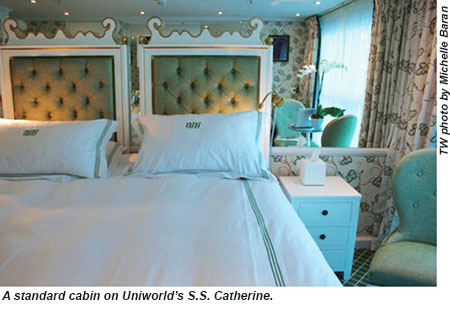 Uniworlds SS Catherine A Visual Feast For Francophiles Travel - Ss catherine