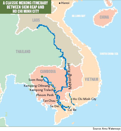The Mekong Flows West: Travel Weekly