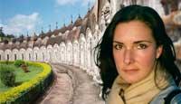 Michelle Baran in India