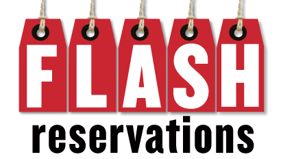 Flash reservations