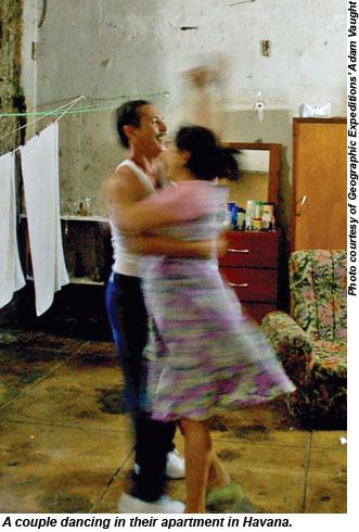 Havana Dancing Couple
