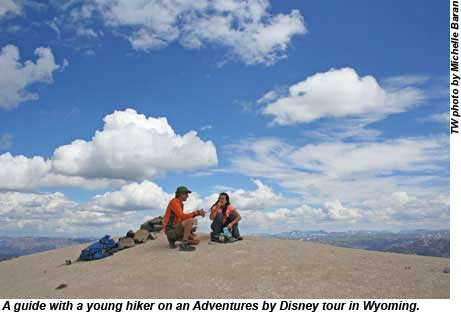 Adventures By Disney Wyoming Hikers