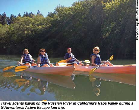 G Adventures Napa Valley Travel Agents