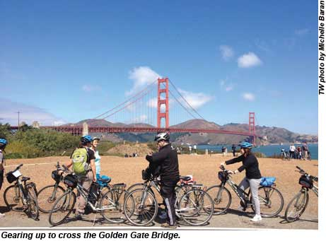 Golden Gate Bridge Biking