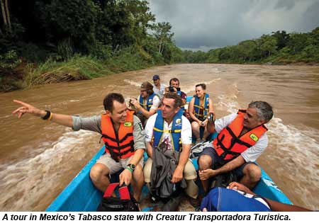Mexico Tabasco Kayaking